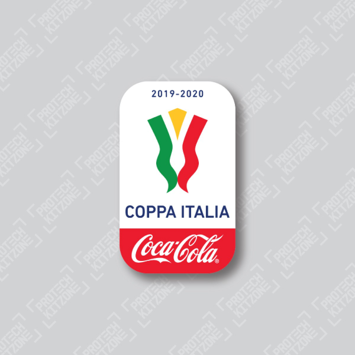 Official Coca Cola Coppa Italia Patch Final 2019 20