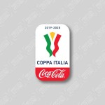 Official Coca-Cola Coppa Italia Patch (Final 2019/20)
