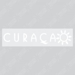 Official Curacao Sleeve Sponsor (For Ajax 20/21 Away Shirt)