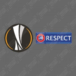Official Sporting ID UEFA Europa League + Respect Patches (Season 2015 - Present)