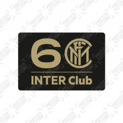 Official Inter Club 60th Anniversary Special Edition Sleeve Badge
