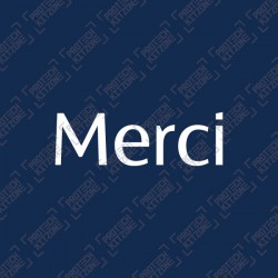 Merci Special MDT Printing (For PSG)