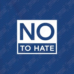 No to Hate Front Patch (Official Chelsea FC 2020/21 Front Patch)