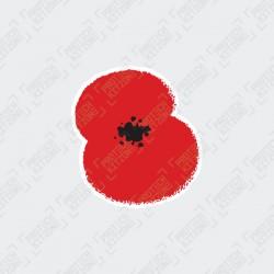 Official Royal British Legion Poppy Patch