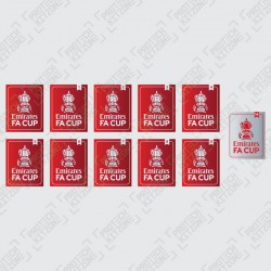 The Emirates FA Cup Badges
