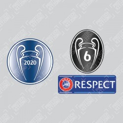Official Sporting iD UEFA Champions 2020 Badge Set