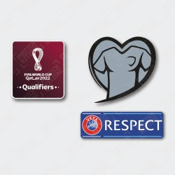 Official FIFA World Cup Qatar 2022 Qualifiers Patches - Europe Country Version