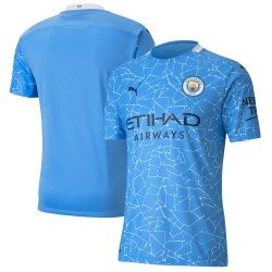 Manchester City 2020/21 Home Authentic Shirt