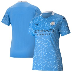 Manchester City 2020/21 Women Home Shirt