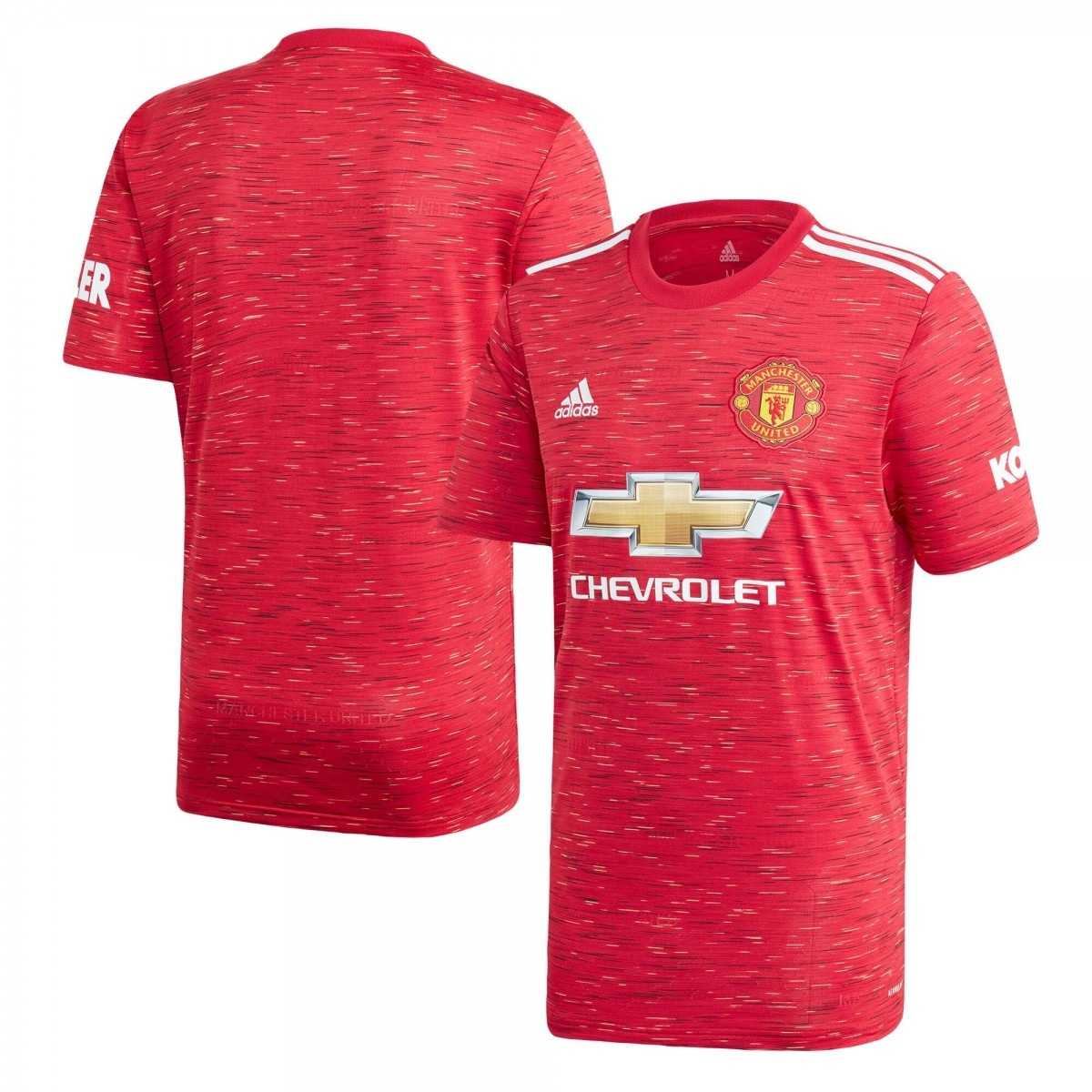 Manchester United 2020 21 Home Shirt