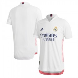 Real Madrid 2020/21 Authentic Home Shirt