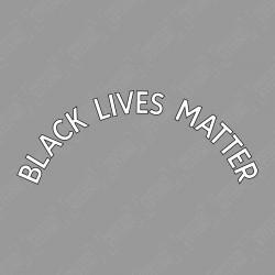 Black Lives Matter (Official English Premier League White Nameblock)