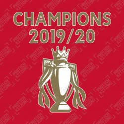 Official Champions 19/20 Trophy Special Edition Nameset
