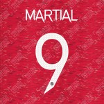 Martial 9 (Official Manchester United FC 2020/21 Home / Away Name and Numbering
