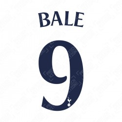 Bale 9 (Official Tottenham Hotspur FC Home Cup Name and Numbering)