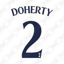 Doherty 2 (Official Tottenham Hotspur FC Home Cup Name and Numbering)