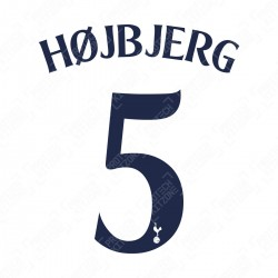 Højbjerg 5 (Official Tottenham Hotspur FC Home Cup Name and Numbering)