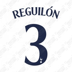 Reguilón 3 (Official Tottenham Hotspur FC Home Cup Name and Numbering)