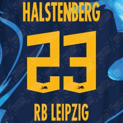Halstenberg 23 (Official RB Leipzig 2020/21 Third Name and Numbering) - UEFA CL Ver.
