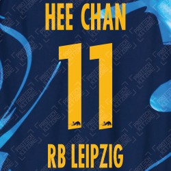 Hee Chan 11 (Official RB Leipzig 2020/21 Third Name and Numbering) - UEFA CL Ver.