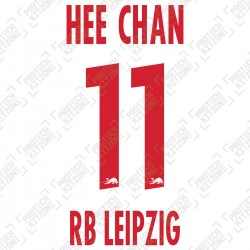 Hee Chan 11 (Official RB Leipzig 2020/21 Home Name and Numbering) - UEFA CL Ver.