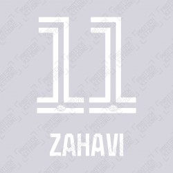 Zahavi 11 (Official PSV Eindhoven 2020/21 Home / Away / Third Shirt Name and Numbering)