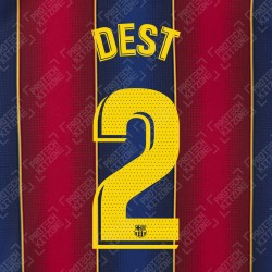 Dest 2 (OFFICIAL FC BARCELONA 2020/21 LA LIGA HOME NAME AND NUMBERING - PLAYER VERSION)