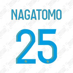Nagatomo 25 (Official OM 2020/21 Home Ligue 1 Name and Numbering)