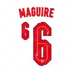 Maguire 6 (Official England 2020 Home Name and Numbering)