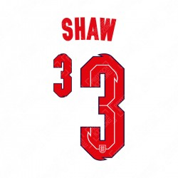 Shaw 3 (Official England 2020 Home Name and Numbering)