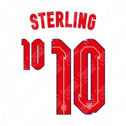 Sterling 10 (Official England 2020 Home Name and Numbering)