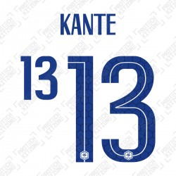 Kante 13 (Official France 2020 Away Name and Numbering)