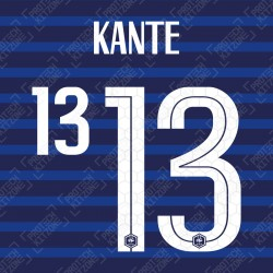 KANTE 13 (Official France 2020 Home Name and Numbering)