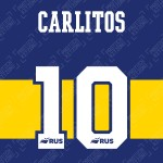 Carlitos 10 (Official CABJ 2020 Home Name and Numbering)