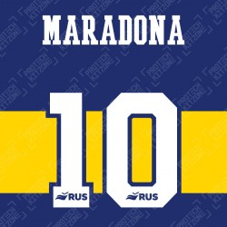 Maradona 10 (Official CABJ 2020 Home Name and Numbering)