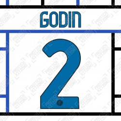 Godin 2 (Official Inter Milan 2020/21 Away Club Name and Numbering)