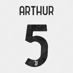 Arthur 5 (Official Juventus 2020/21 Home / Third Name and Numbering)