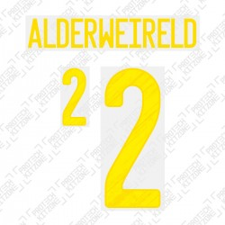 Alderweireld 2 (Official Belgium EURO 2020 Home Name and Numbering)