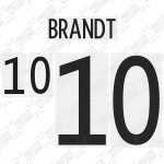 Brandt 10 (Official Germany EURO 2020 Home Name and Numbering)