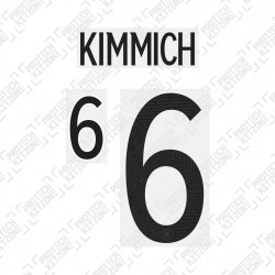 Kimmich 6 (Official Germany EURO 2020 Home Name and Numbering)