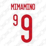 Minamino 9 (Official Japan 2020 Home Name and Numbering)