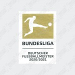 Bundesliga 21-22 Champions Sleeve Patch - 20/21 Season Winners