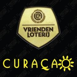 Authentic Eredivise 21/22 Champions Sleeve Badge + Curacao Sleeve Sponsor (Third)