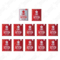 Official The Emirates FA Cup 150 Years Badges (2021/22 Version by Sporting iD)