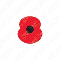 Official Royal British Legion Poppy 2021/22 Patch
