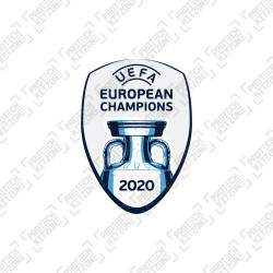 Official UEFA European Champions 2020 Badge (for Italy Shirt)