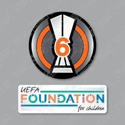 Official Sporting iD UEFA Europa League BOH6 + UEFA Foundation Badge Set