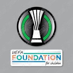 Official Sporting iD UEFA Europa Conference League + UEFA Foundation Badge Set