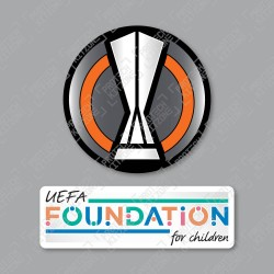 Official Sporting iD UEFA Europa League + UEFA Foundation Badge Set