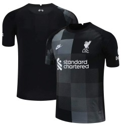 Liverpool FC 2021/22 Goalkeeper Shirt - Black